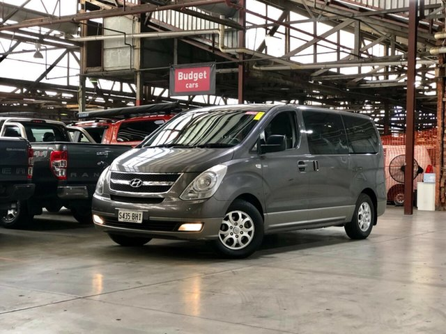Used Hyundai iMAX TQ-W Selectronic Mile End South, 2011 Hyundai iMAX TQ-W Selectronic Grey 5 Speed Sports Automatic Wagon