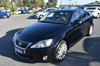 2010 Lexus IS GSE20R MY10 IS250 Sports Luxury Black 6 Speed Sports Automatic Sedan