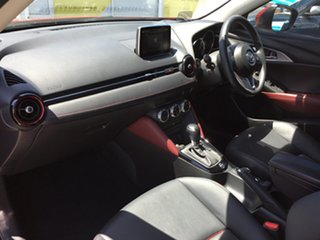 2015 Mazda CX-3 DK2W7A sTouring SKYACTIV-Drive Red/Black 6 Speed Sports Automatic Wagon