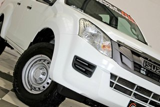 2013 Isuzu D-MAX TF MY12 SX HI-Ride (4x2) White 5 Speed Automatic Crew Cab Utility.