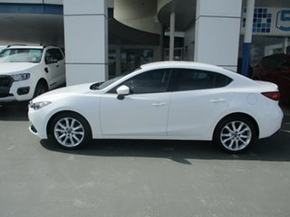 2014 Mazda 3 BL Series 2 MY13 SP25 White 5 Speed Automatic Sedan.