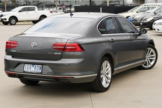 2015 Volkswagen Passat 3C (B8) MY16 140TDI DSG Highline Grey 6 Speed Sports Automatic Dual Clutch.