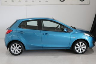 2013 Mazda 2 DE10Y2 MY13 Neo Blue 4 Speed Automatic Hatchback.