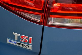 2014 Volkswagen Golf VII MY14 103TSI DSG Highline Blue 7 Speed Sports Automatic Dual Clutch