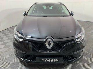 2017 Renault Megane KFB GT-Line EDC Black 7 Speed Sports Automatic Dual Clutch Wagon.