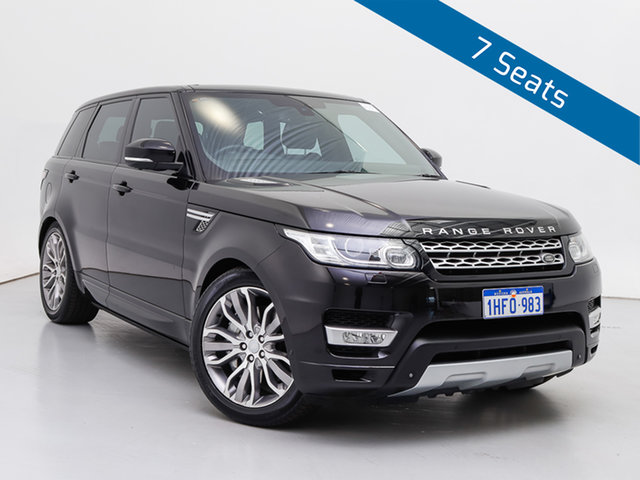 Used Land Rover Range Rover LW MY15.5 Sport 3.0 SDV6 Autobiography, 2015 Land Rover Range Rover LW MY15.5 Sport 3.0 SDV6 Autobiography Barolo Black 8 Speed Automatic