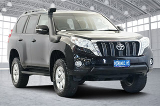2016 Toyota Landcruiser Prado GDJ150R GXL Black 6 Speed Sports Automatic Wagon.