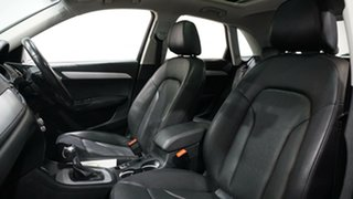 2017 Audi Q3 8U MY18 TFSI S Tronic White 6 Speed Sports Automatic Dual Clutch Wagon