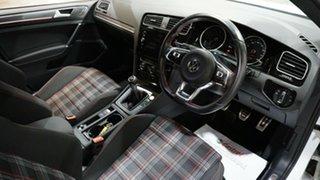 2018 Volkswagen Golf 7.5 MY18 GTi White 6 Speed Manual Hatchback
