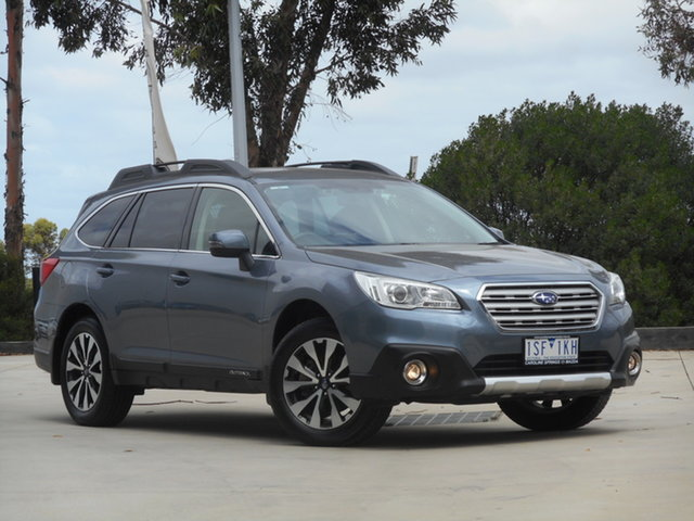 Used Subaru Outback B6A MY17 2.5i CVT AWD Ravenhall, 2017 Subaru Outback B6A MY17 2.5i CVT AWD Silver 6 Speed Constant Variable Wagon