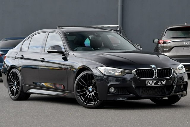 Used BMW 320d F30 MY0813 320d Moorabbin, 2014 BMW 320d F30 MY0813 320d Black 8 Speed Sports Automatic Sedan