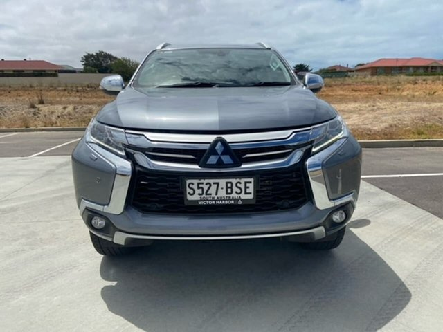 Used Mitsubishi Pajero Sport QE MY17 Exceed Victor Harbor, 2017 Mitsubishi Pajero Sport QE MY17 Exceed Grey 8 Speed Sports Automatic Wagon
