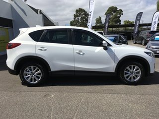 2013 Mazda CX-5 KE1071 MY14 Maxx SKYACTIV-Drive Sport White 6 Speed Sports Automatic Wagon.