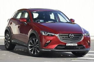 2020 Mazda CX-3 DK2W7A sTouring SKYACTIV-Drive FWD Red 6 Speed Sports Automatic Wagon.