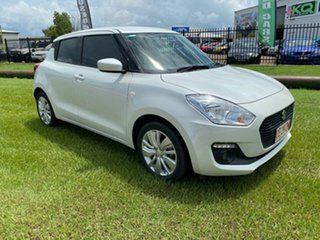 2018 Suzuki Swift AZ GL Navigator White 1 Speed Constant Variable Hatchback.