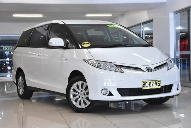Used Toyota Tarago ACR50R MY09 GLi Waitara, 2009 Toyota Tarago ACR50R MY09 GLi White 4 Speed Sports Automatic Wagon