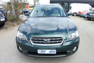 2005 Subaru Outback B4A MY05 Premium Pack AWD Green 4 Speed Sports Automatic Wagon.