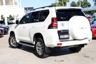2018 Toyota Landcruiser Prado GDJ150R VX Crystal Pearl 6 Speed Sports Automatic Wagon.