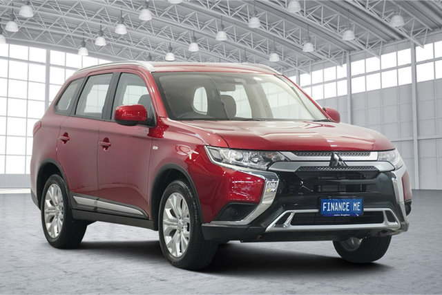 Used Mitsubishi Outlander ZL MY19 ES AWD Victoria Park, 2019 Mitsubishi Outlander ZL MY19 ES AWD Red 6 Speed Constant Variable Wagon