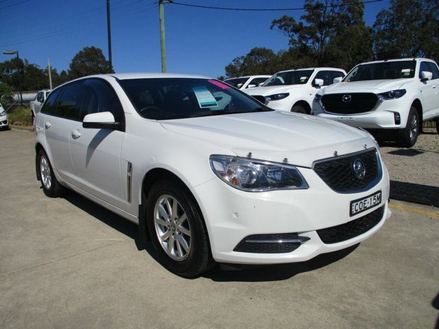 Used Holden Commodore VF MY14 Evoke Sportwagon Glendale, 2014 Holden Commodore VF MY14 Evoke Sportwagon White 6 Speed Sports Automatic Wagon