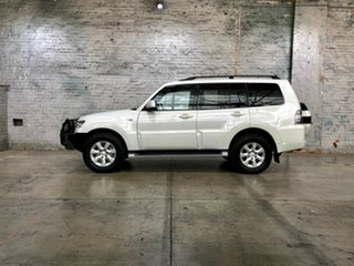 2018 Mitsubishi Pajero NX MY18 GLX White 5 Speed Sports Automatic Wagon