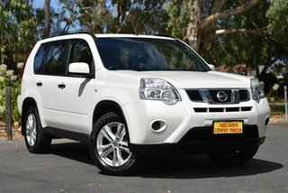 2012 Nissan X-Trail T31 Series IV ST White 6 Speed Manual Wagon.