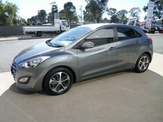 2015 Hyundai i30 GD3 Series 2 Active X Grey 6 Speed Automatic Hatchback.