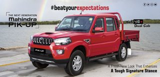 2021 Mahindra Pik-Up S6+ (4x4) Red Rage 6 Speed Manual Dual Cab.