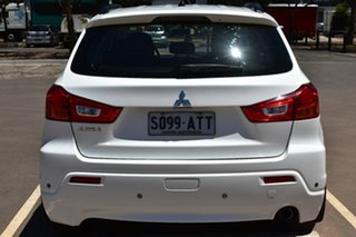 2011 Mitsubishi ASX XA MY11 2WD White 6 Speed Constant Variable Wagon