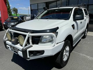 2012 Ford Ranger PX XL 3.2 (4x4) White 6 Speed Automatic Double Cab Pick Up