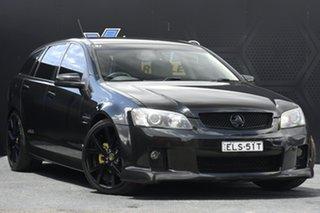 2009 Holden Commodore VE MY10 SS V Sportwagon Black 6 Speed Sports Automatic Wagon.