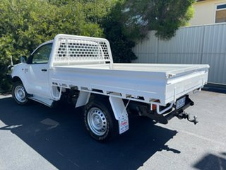 2014 Toyota Hilux KUN26R MY14 SR White 5 Speed Automatic Cab Chassis