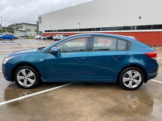 2012 Holden Cruze JH MY12 Equipe Green 6 Speed Automatic Hatchback