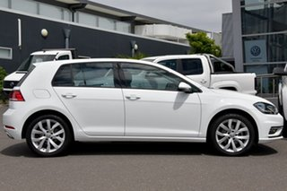 2018 Volkswagen Golf 7.5 MY18 110TSI DSG Highline White 7 Speed Sports Automatic Dual Clutch.