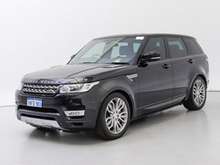 2015 Land Rover Range Rover LW MY15.5 Sport 3.0 SDV6 Autobiography Barolo Black 8 Speed Automatic.