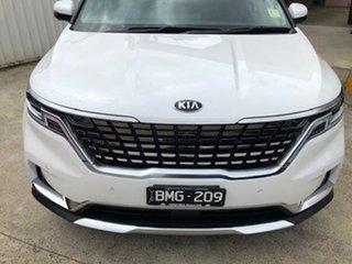 2020 Kia Carnival KA4 MY21 Platinum Snow White Pearl 8 Speed Sports Automatic Wagon.