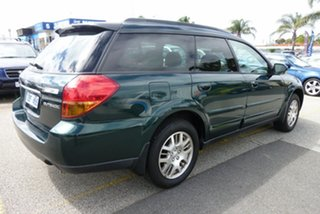 2005 Subaru Outback B4A MY05 Premium Pack AWD Green 4 Speed Sports Automatic Wagon