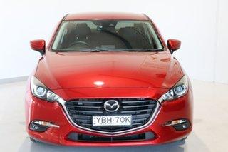2016 Mazda 3 BN5278 Maxx SKYACTIV-Drive Red 6 Speed Sports Automatic Sedan