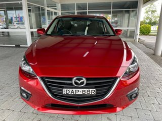 2015 Mazda 3 Maxx Soul Red Sports Automatic Hatchback.