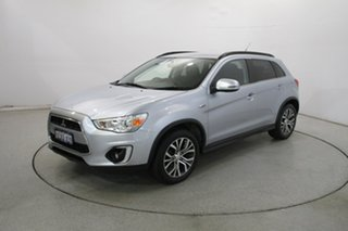 2015 Mitsubishi ASX XB MY15 LS 2WD Cool Silver 6 Speed Constant Variable Wagon.