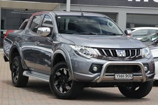 2017 Mitsubishi Triton MQ MY17 Exceed Double Cab Titanium 5 Speed Sports Automatic Utility.