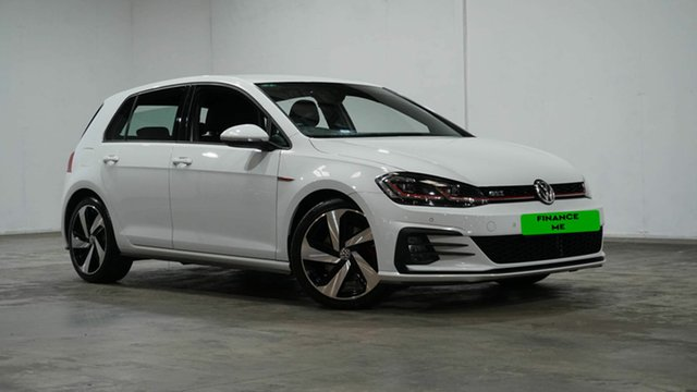 Used Volkswagen Golf 7.5 MY18 GTi Welshpool, 2018 Volkswagen Golf 7.5 MY18 GTi White 6 Speed Manual Hatchback