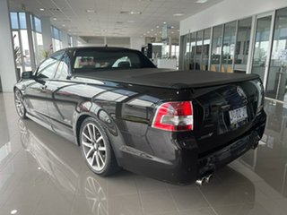 2012 Holden Ute VE II MY12 SS V Black 6 Speed Manual Utility