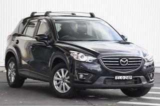 2015 Mazda CX-5 KE1022 Maxx SKYACTIV-Drive AWD Sport Black 6 Speed Sports Automatic Wagon.