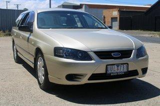 2007 Ford Falcon BF MkII XT (LPG) Gold 4 Speed Auto Seq Sportshift Wagon.