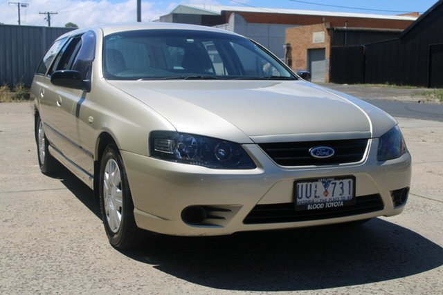 Used Ford Falcon BF MkII XT (LPG) West Footscray, 2007 Ford Falcon BF MkII XT (LPG) Gold 4 Speed Auto Seq Sportshift Wagon