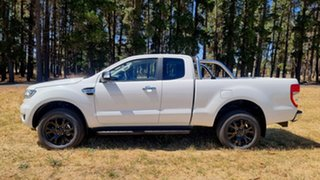 2018 Ford Ranger PX MkIII 2019.00MY XLT Cool White 6 Speed Sports Automatic Utility