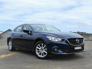 2017 Mazda 6 GL1031 Sport SKYACTIV-Drive Blue 6 Speed Sports Automatic Sedan.
