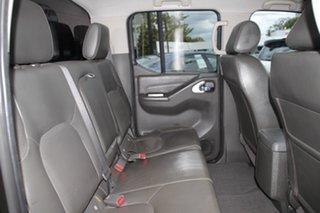 2013 Nissan Navara D40 S5 MY12 ST-X 550 Black 7 Speed Sports Automatic Utility