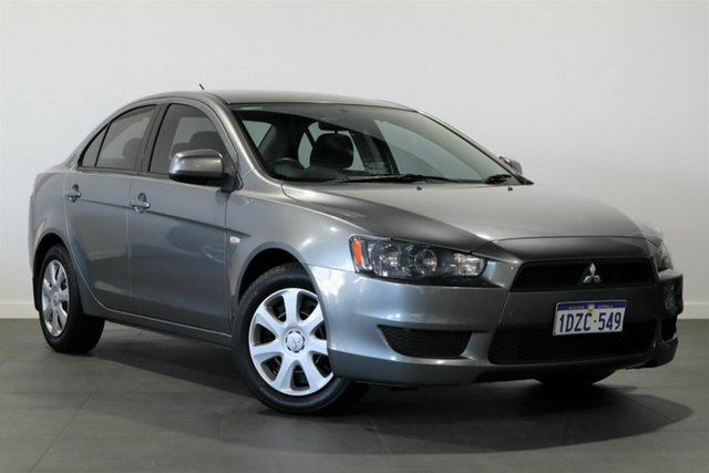 Used Mitsubishi Lancer CJ MY11 ES Bayswater, 2011 Mitsubishi Lancer CJ MY11 ES Grey 6 Speed Constant Variable Sedan